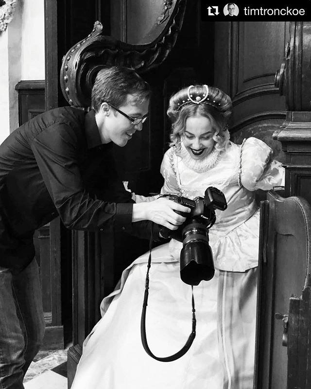 #Repost @timtronckoe On set with Anneke Van Giersbergen for PORTRAITS.Photo by Dorina Kappatou.Wardrobe and styling: Ingeborg SteenhorstMake-up: Kika von MacabreHair: Julia Lion HairSet design: Simon De Bruyne#annekevangiersbergen #portraits #timtronckoe #photoshoot #bts #behindthescenes #makingof #book