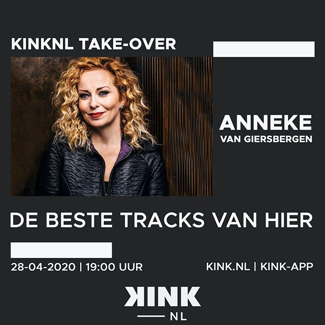 Tonight at 7pm (19:00 CEST) I will present some of my favourite Dutch alternative rock tracks @kinkpuntnl's brand new theme channel: KINKNL!XxX (check out the kink.nl website or mobile app)